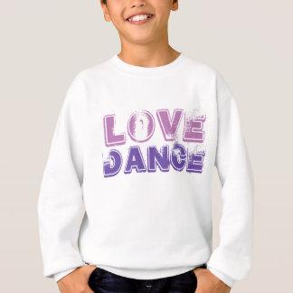Liebe-Tanz-Mädchen-T-Shirt Strickjacke Sweatshirt