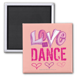 Liebe-Tanz Quadratischer Magnet