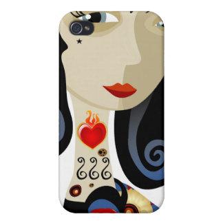 Liebe-Tätowierung iPhone 4/4S Hülle