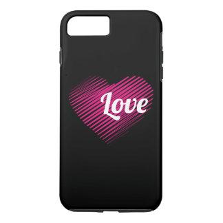 Liebe-Telefon-Kasten - Valentinstag iPhone 8 Plus/7 Plus Hülle