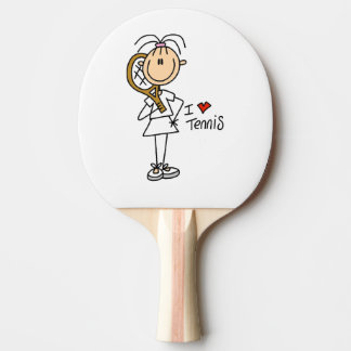 Liebe-TennisPing Pong Paddel der Frau-I Tischtennis Schläger