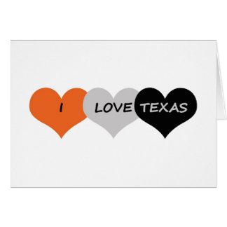 Liebe Texas Karte