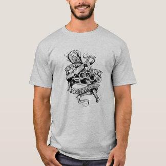 Liebe Thy Nachbar (Tätowierungsentwurf) T-Shirt