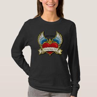 Liebe Thy Schutz-Hund T-Shirt