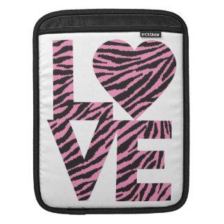 Liebe-Tiere iPad Sleeve