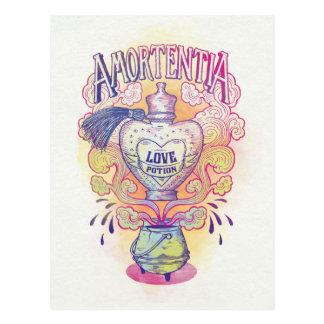Liebe-Trank-Flasche Harry- Potterbann-| Amortentia Postkarte