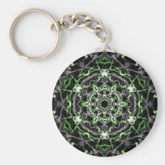 Liebe-Trankmandala-Kaleidoskopmuster Schlüsselanhänger