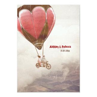 Liebe-Traumhochzeit laden ein 12,7 X 17,8 Cm Einladungskarte