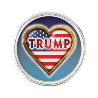 Liebe-Trumpf Anstecknadel