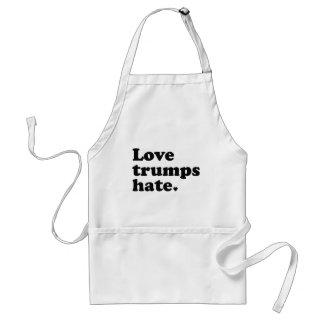 Liebe-Trumpf-Hass Schürze