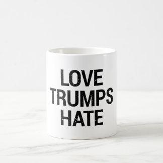 Liebe-Trumpf-Hass-Tasse Kaffeetasse