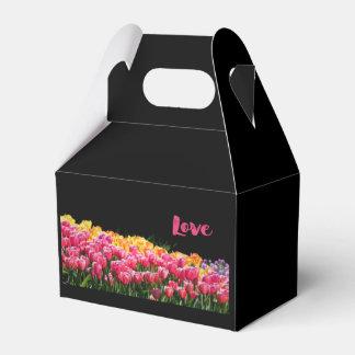 Liebe-Tulpe-Garten Geschenkschachtel