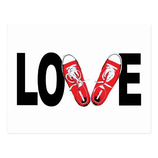 Liebe u. Schuhe Postkarten