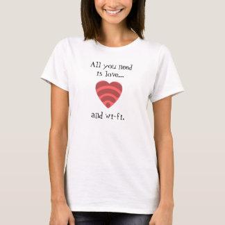 Liebe u. Wi-FiT - Shirt