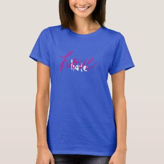 Liebe über Hass-T - Shirt