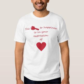 Liebe und der Schlüssel Tshirts