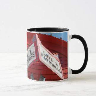 Liebe- und Glück-Tasse Tasse