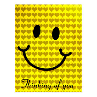Liebe und Happiness_ Postkarte