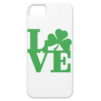 LIEBE und Kleeblätter iPhone 5 Schutzhüllen