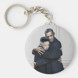 Liebe UNO Nordkorea Obama-Kim Jong Schlüsselanhänger