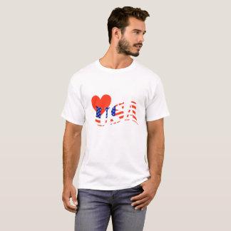 Liebe USA-Shirt T-Shirt