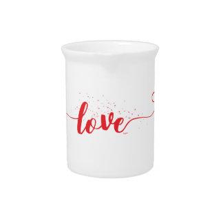 Liebe-Valentinsgruß-Wirbel Krug