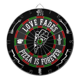 Liebe verblaßt Dartboard Dartscheibe