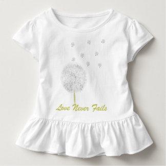 Liebe versagt Dandelion1 nie Korinther 13 T Shirts
