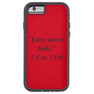 """Liebe versagt nie"" Iphone 6/6S Tough Xtreme iPhone 6 Hülle"