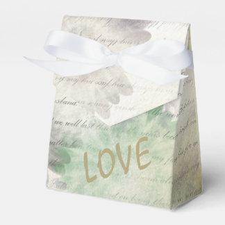 Liebe versagt nie personalisierte Hochzeit Geschenkschachtel