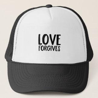Liebe verzeiht truckerkappe