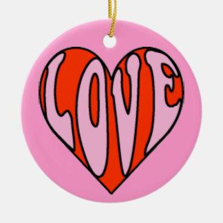 Liebe-Verzierung Ornamente