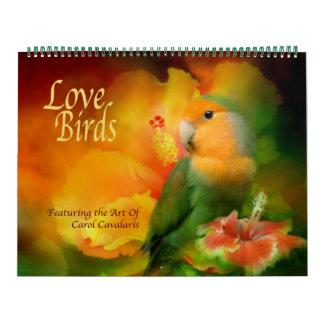 Liebe-Vogel-Kunst-Kalender Kalender