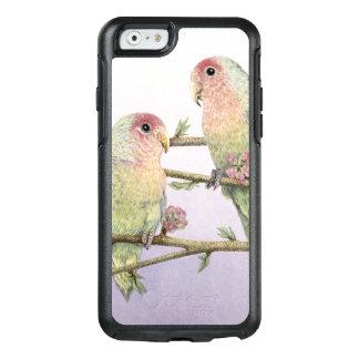 Liebe-Vögel OtterBox iPhone 6/6s Hülle