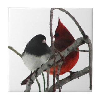 Liebe-Vogel-sonderbare Paare Keramikfliese