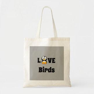 Liebe-Vogel-Taschen-Tasche Tragetasche
