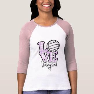 Liebe-Volleyball T-Shirt