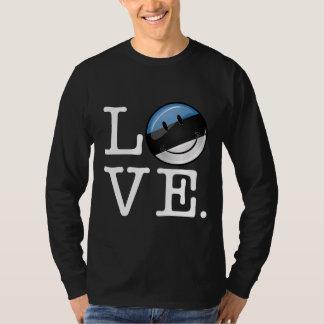 Liebe von lächelnder Flagge Estlands T-Shirt