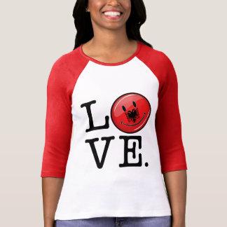 Liebe von wenn lächelnde Flagge Albaniens Shirt