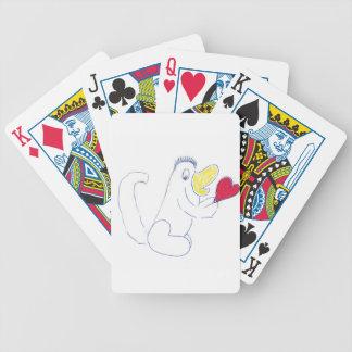 Liebe-Wanzen-Spielkarten Bicycle Spielkarten