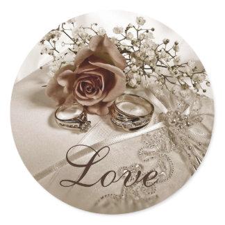 Liebe-Wedding Aufkleber aufkleber