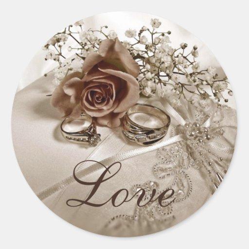 Liebe-Wedding Aufkleber