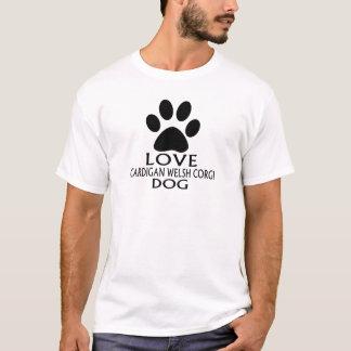 LIEBE-WOLLJACKEN-WALISERcorgi-HUNDEentwürfe T-Shirt