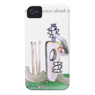 Liebe-Yorkshire 'furchtloser Cricketers iPhone 4 Case-Mate Hülle