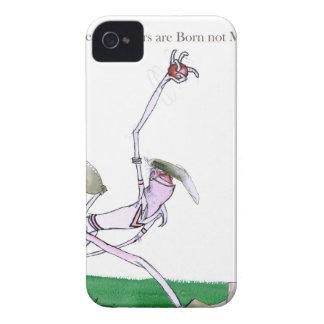 Liebe-Yorkshire-Kricket 'Bowlers sind geborenes Case-Mate iPhone 4 Hülle
