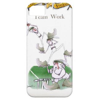Liebe-Yorkshire-Kricket'Team work iPhone 5 Schutzhülle
