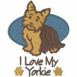 Liebe-Yorkshire-Terrier Kapuzenpulli