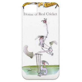 Liebe-Yorkshire 'wirkliches cricket Schutzhülle Fürs iPhone 5