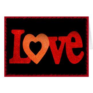 Liebe-Zeichen Karte