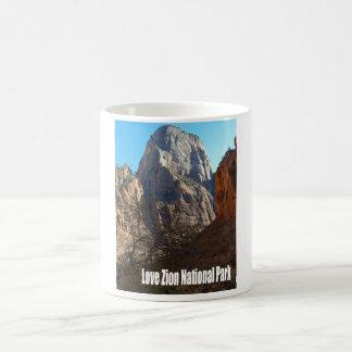 Liebe Zion Nationalpark Kaffeetasse